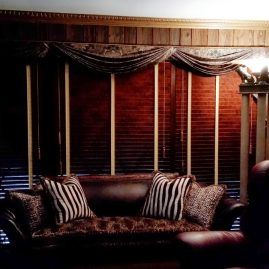 Swags & jabots, wood blinds, and upholstery: Malvern, PA