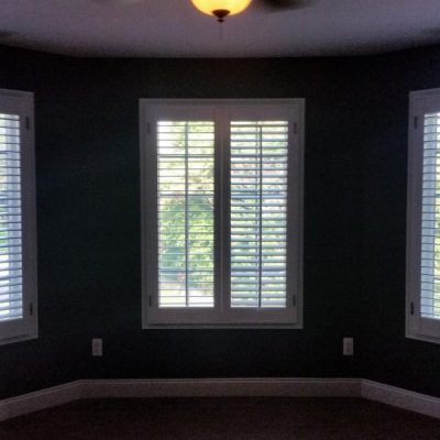 Plantation shutters - living room, Pottstown, PA