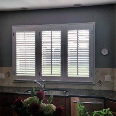 Plantation Shutters in Pottstown, PA kitchen