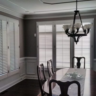 Plantation shutters - dining room - Pottstown, PA