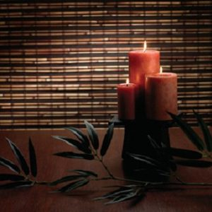 Woven Wood – Natural Reeded Shade